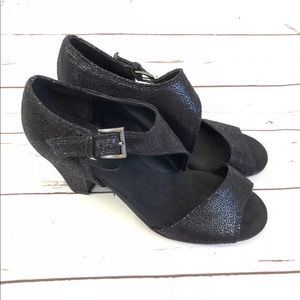 👠 AEROSOLES Heelrest Open Toe Block 👠
